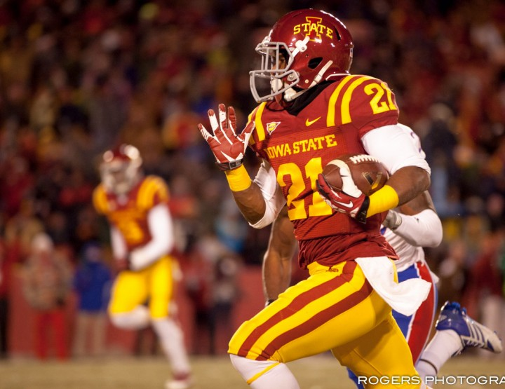 Iowa State Cyclones vs Kansas Jayhawks