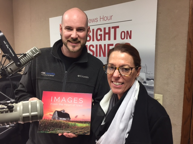 Insight on Business - The News Hour radio show promoting Iowa photography book